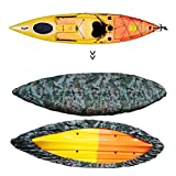Universal 2.6-4M(8.5-13.1ft)Camouflage Kayak Canoe Boat Waterproof UV Resistant Dust Storage Cover Shield-2 sizes