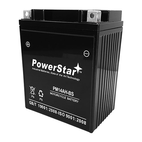 YTX14AH-BS Sealed SMF Powersport Battery For Polaris 500 Sportsman HO 1996-2012