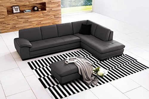 Sectional Grey in Right Hand Facing (Furntiure Living Room Furniture)