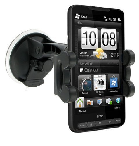 indscreen Suction Holder/ Mount for HTC HD2 (Hd2 Protector)