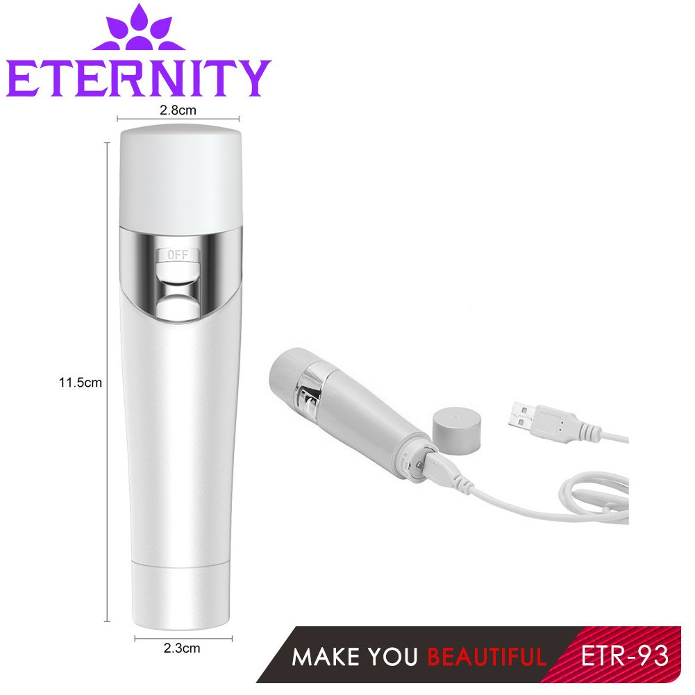 ETERNITY Women's Multifunction Epilator Electric - (Epilator-Shaver-Facial cleansing-Callus Removal) for Face Cleaning Brush Hair Removal Depilation Machine Depilatory Female Shaver