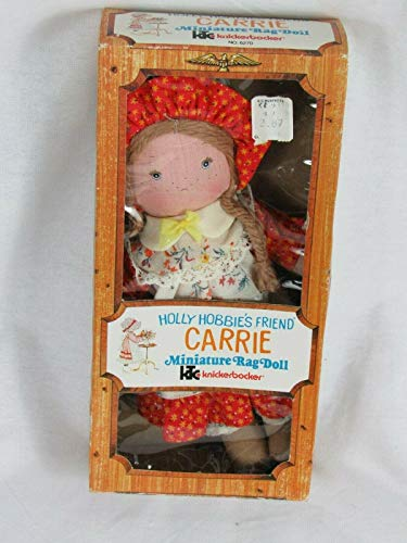 "Holly Hobbie Vintage 8"" Doll Carrie Friend"