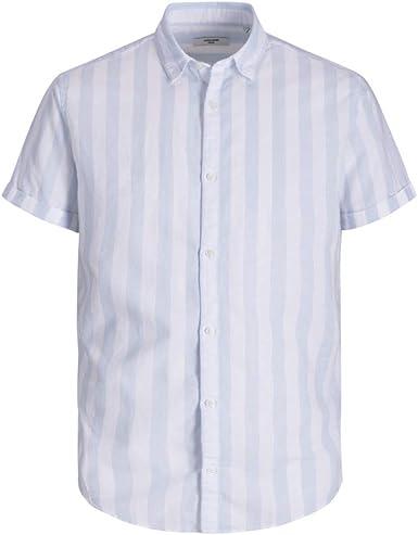 JACK & JONES PREMIUM Jprsummer Mix Shirt S/S Camisa para Hombre: Amazon.es: Ropa y accesorios