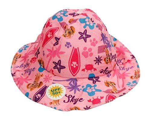 Nickelodeon Girls' Paw Patrol Printed Bucket Hat Pink