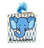 Best Jellycat Book For A One Year Olds - Jellycat Board Books, If I Were An Elephant Review