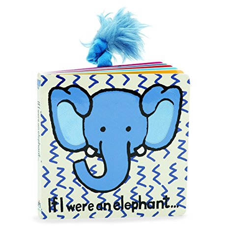 Jellycat Board Books, If I were an Elephant
