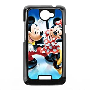 Mickey and Minnie HTC One X Cell Phone Case Black S1Q0QE
