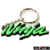 Krator® KAWASAKI NINJA ZX6 ZX7 ZX9 ZXR KEYCHAIN KEY RING FOB ZXR MOTORCYCLE