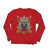 lepni.me Men's T-Shirt Hunting Season Apparel - Deer or Duck Hunt, Hunter Clothing (Small Red Multi Color)