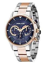Police Men's PL14383JSTR03M Casual Driver Multifunction Watch with Date