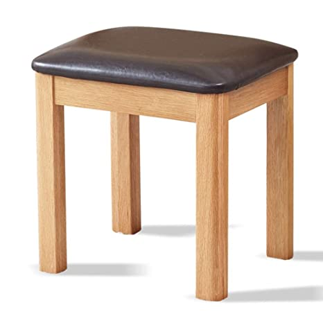 Amazon.com: Vanity Benches Makeup Stool Bedroom Solid Wood ...