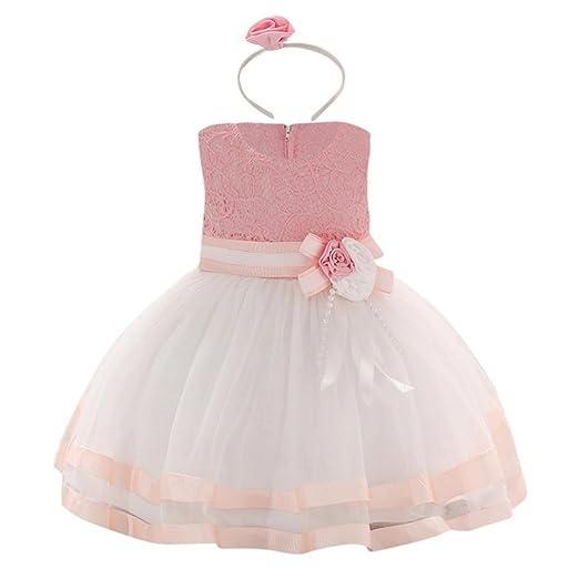 Amazon.com: Moonker Girls Wedding Dress for