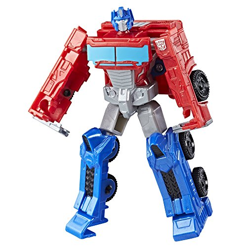 Transformers Authentics Autobot Optimus Prime Action Figure, 4 Inches