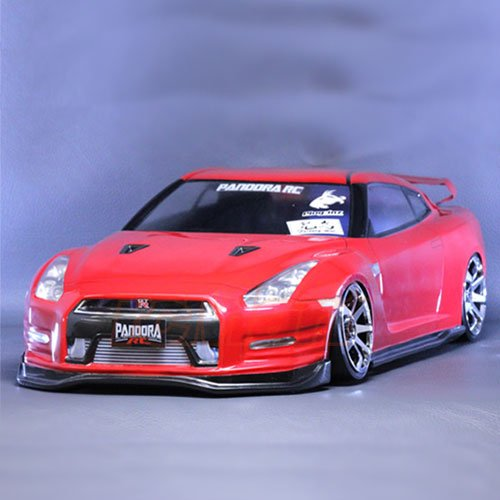 Pandora RC #PD/PAB-132 Nissan R35 GT-R Body Shell by Pandora RC (Pandora RC)
