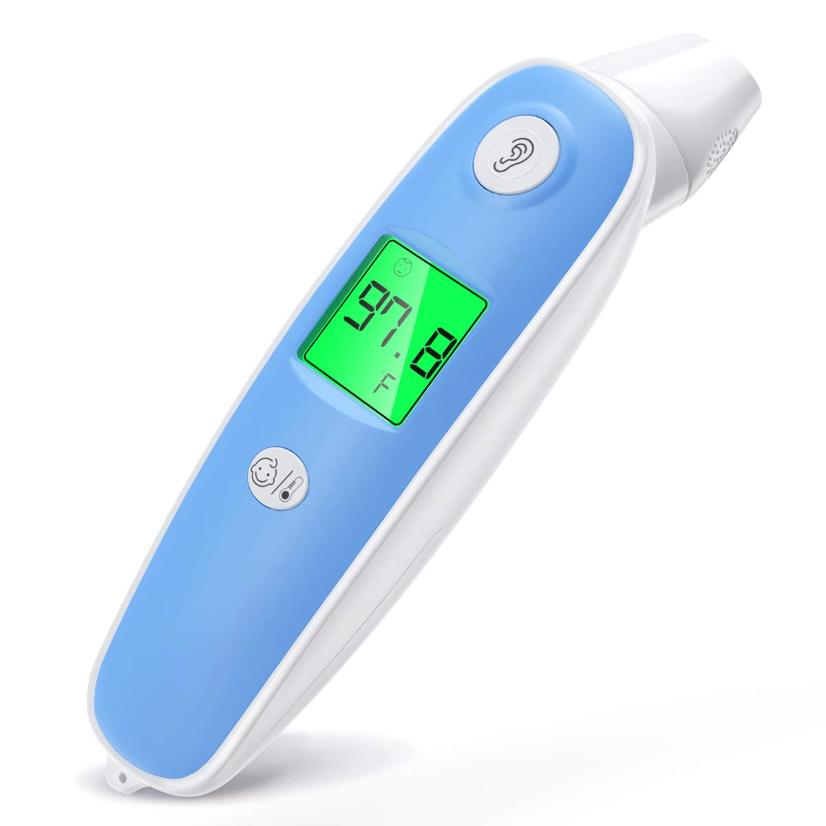 Baby Thermometer, Aimego Forehead and Ear Thermometer for Fever, Infrared Infant Thermometer for Kids, Accurate Baby Digital Medical Thermometer with Fever Alarm FDA Non Contact Adult and Baby 2019