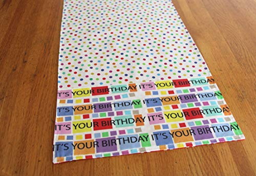 Happy Birthday Table Runner ()