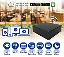 Spy-Max Black Box Wifi HD Hidden Spy Camera with Remote Live View Access, 20