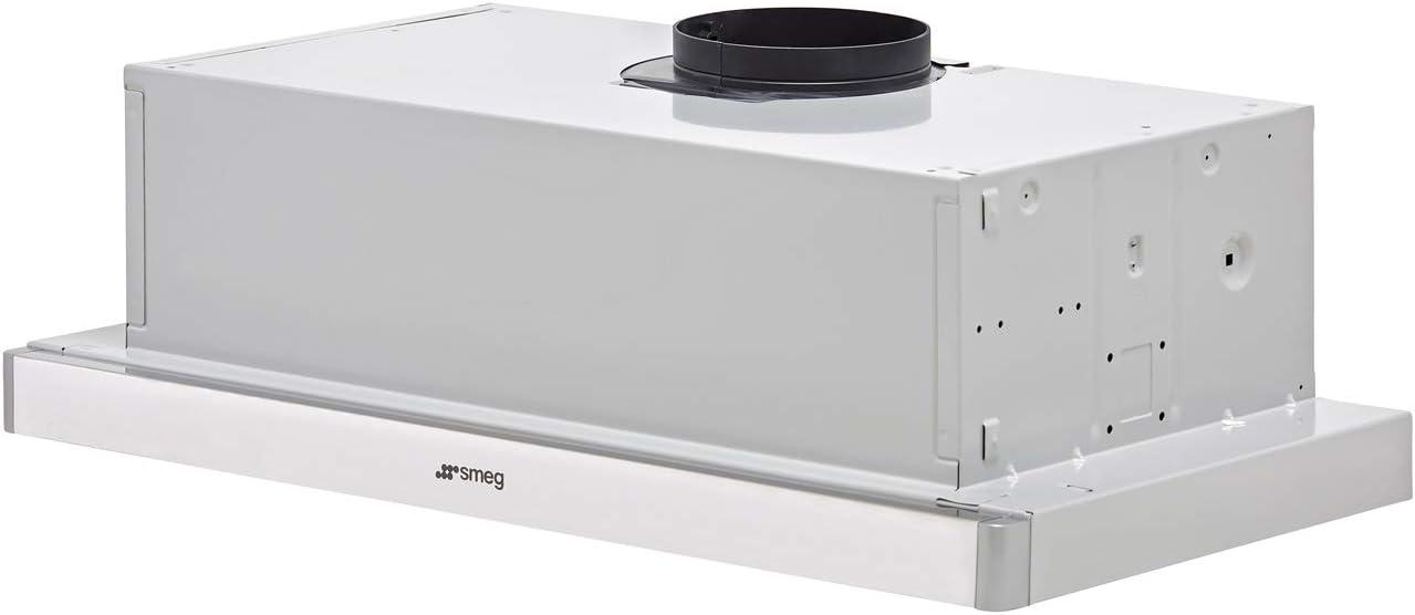 Smeg KSET61E2 - Campana (315 m³/h, Canalizado/Recirculación, E, D, C, 67 dB): Amazon.es: Hogar