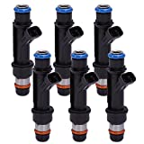 Fuel Injector 25323972 12586551 25323971 for Buick Chevrolet Pontiac 3.8L (Pack of 6)