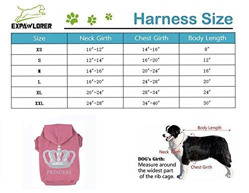 EXPAWLORER-Princess-Dog-Cat-Fleece-Sweatshirt-Hoodies