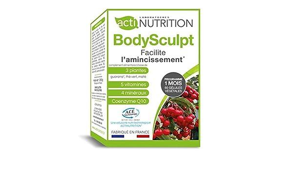 ACTInutrition - BodySculpt - guaraná / té verde: Amazon.es: Salud y cuidado personal