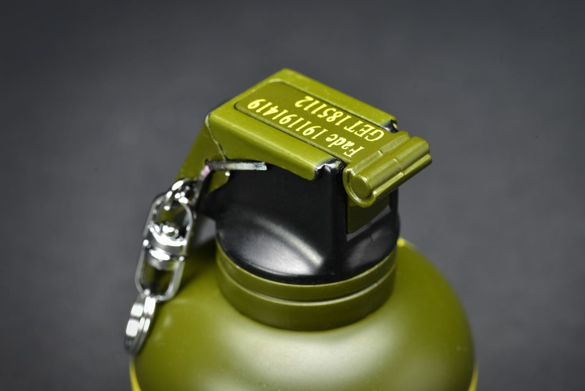 fadecase Lighter Replica - Real csgo Grenade Mechero Skin Counter Strike Global Offensive (High Explosiva)