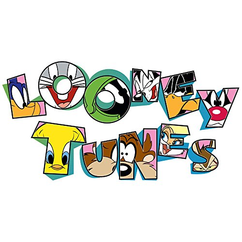 (Looney Tunes Large Logo Wall Decal)
