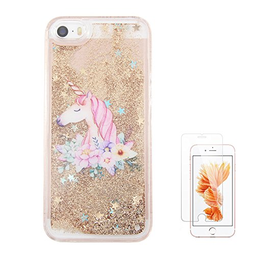 uCOLOR Glitter Waterfall Tempered Protector
