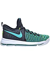 Nike Zoom KD 9 Mens Basketball Shoes Clear Jade/Black 843392-300