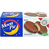 MoonPie Mini, Chocolate, 1oz, 12 Count (Pack of 12, 144 Count Total)