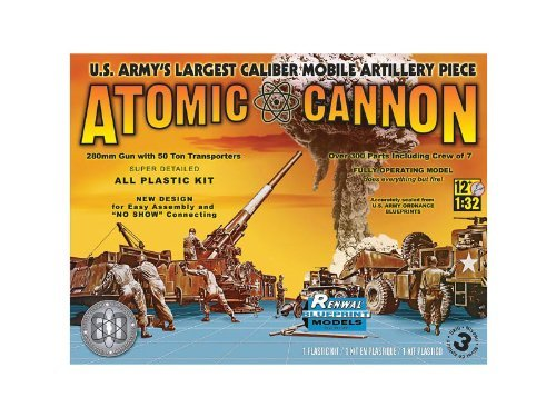 Atomic Cannon 60th Anniversary 1/32 Renwal - Atomic Cannon