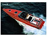 1988 Wellcraft Scarab III Power Boat Factory Photo
