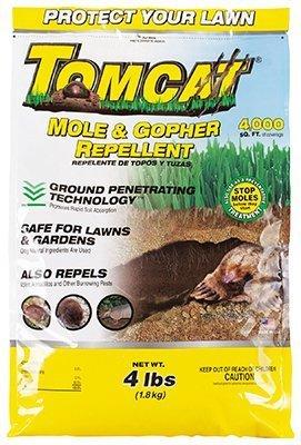 Tomcat Granular Mole Repellent (Pack of 4) by Tomcat