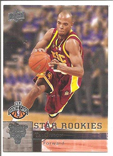 Taj Gibson Chicago Bulls / USC Trojans 2009-10 Upper Deck Star Rookies Basketball Card #210 (Trojans Memorabilia Usc)