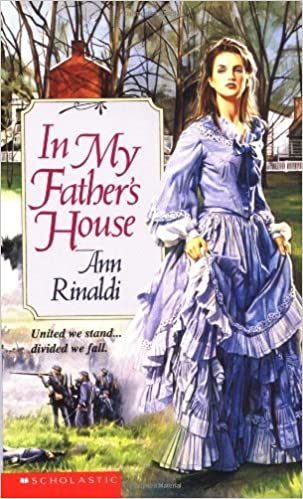 Book By Ann Rinaldi In My Father's House (Point)