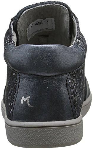 Minibel Lamoda - Zapatos de primeros pasos Bebé-Niños Negro - Noir (70 Noir/Noir Argent)
