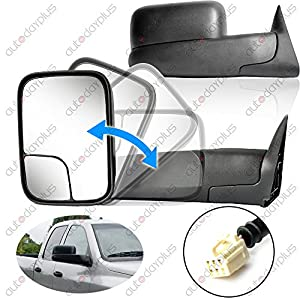 amazon com spec d tuning rmx ram98h p fs towing mirror automotive spec d tuning rmx ram98h p fs towing mirror