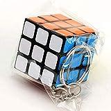 DHmart 3cm Mini Rubiks Cube Neo 3x3x3 Magic Anti-Stress Toys Puzzles Speed Neo Cube Magico Fidget Educational Toy Keychain for ren