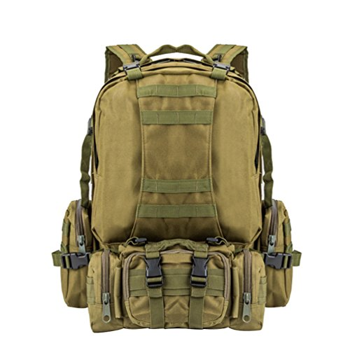 F Assault Combo Mens Tactical Backpack Woman Pack Hiking Sport Backpack Camouflage Military Rucksack Wanyang Camping Patrol qRCSZ