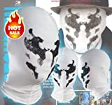 New Rorschach Mask Watchman Balaclava Cosplay Costume Headgear Full Face Mask