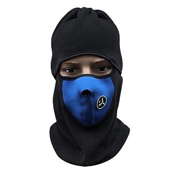 Máscara para el cuello y rostro para deportes en el exterior como esquí, motociclismo,