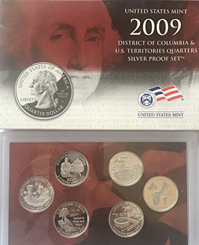 2009 S US SILVER Proof Set Territories DC Comes in the Original Packing from the Mint Proof