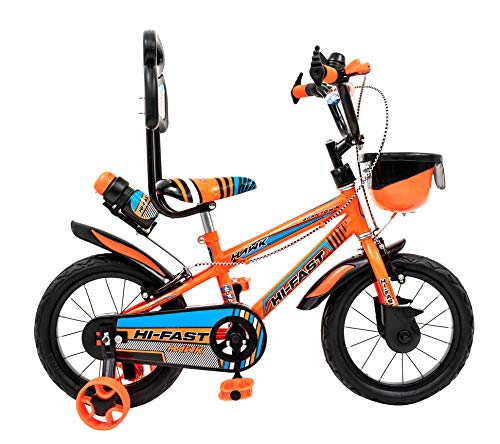 HI-FAST 14t Single Speed Kids Cycles for 3 to 5 Years Boys & Girl (Semi-Assembled,Neon Colours) Price & Reviews