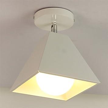 XIFENG Lámparas Nórdicas Creativas De Hierro Forjado Pasillo ...