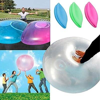 Bola de goma blanda de balón de playa con agua hinchable de ...