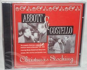 Audio CD Abbott & Costello Christmas Stocking Book