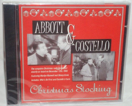 (Abbott & Costello Christmas Stocking )