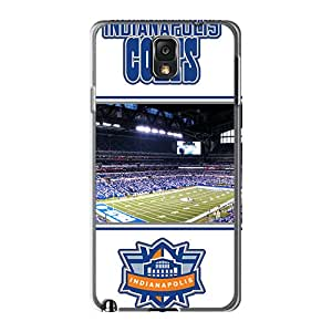 Scratch Protection Hard Cell-phone Cases For Samsung Galaxy Note 3 With Allow Personal Design Attractive Indianapolis Colts Series RobAmarook