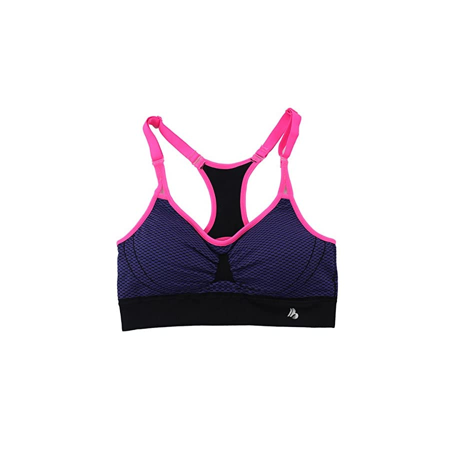 Sports Bra Padded Seamless High Impact Support Racerback Yoga Bras for Workout Fitness