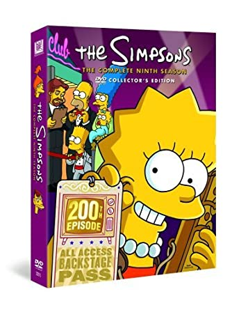 Simpsons S9 Uk Import Amazonde The Simpsons Dvd Blu Ray